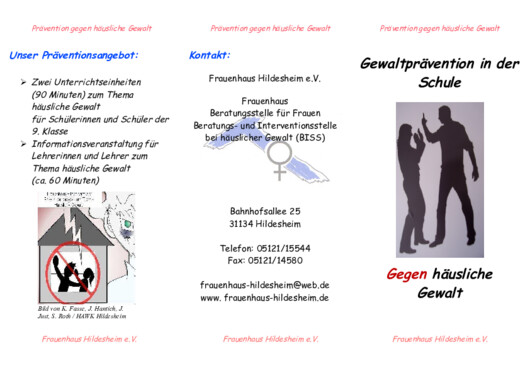 Flyer Prävention